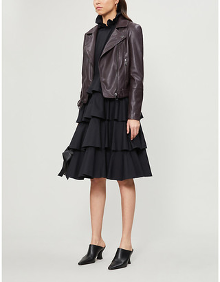 Ted Baker Faux-leather biker jacket