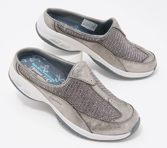 Skechers Metallic Pearl Open Back Shoes - Commute Time