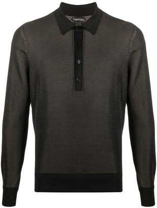 Tom Ford Woven Polo Shirt