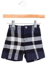 Burberry Boys' Nova Check Knee-Length Shorts