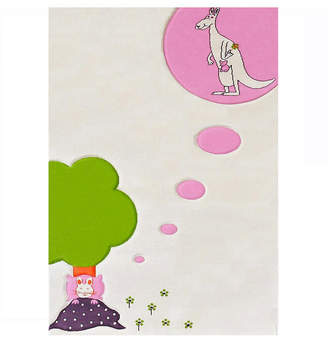 """Ivi Dream Soft Nursery Rug with a Playful Design for Kids Bedrooms and Playrooms - 59""""L x 39""""W Playmat"""