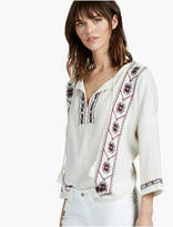 Lucky Brand Embroidered Peasant