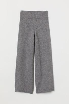 H&M Knit Pants - Gray