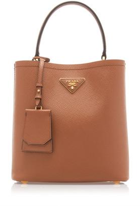 Prada City Leather Top Handle Bag