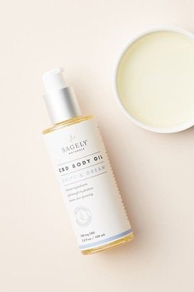 Sagely Naturals Drift & Dream Body Oil By Sagely Naturals in White Size ALL