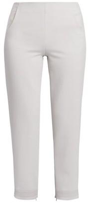Giorgio Armani Double Crepe Stretch Wool Trousers