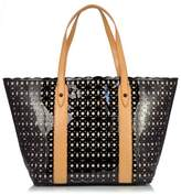 Sondra Roberts Perforated Patent Tote