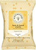 Burt's Bees Baby Face & Hand Cloths, 30 Count (Packaging May Vary)