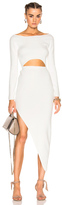 Baja East for FWRD Cut Out Dress in White.