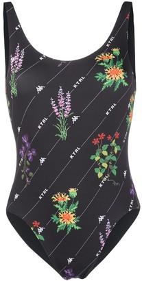 Kappa Kontroll Graphic Print Swimsuit