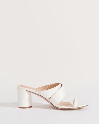 Veronica Beard Zuri Toe-Ring Slide Sandal