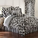 Rose Tree Symphony Reversible King Comforter Set in Black/White