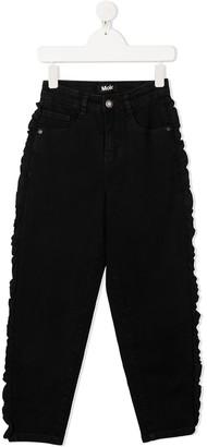 Molo Allis ruffled jeans