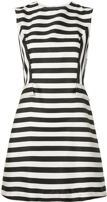 Bambah Arayas striped mini dress