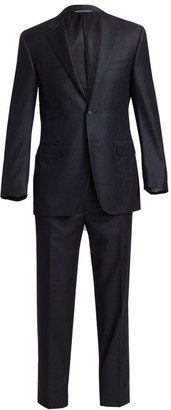 Canali Wool Two Button-Front Suit