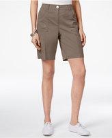 Karen Scott Curved-Pocket Shorts, Only at Macy's