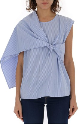 MM6 MAISON MARGIELA Tie-Detail Top