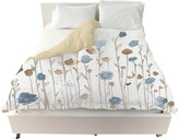 "Oliver Gal The Artist Co. Beautiful Growth Light Blue"" Duvet Cover, King"