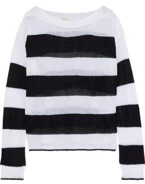 Rag & Bone Allie Striped Open-knit Sweater