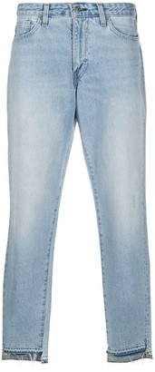 Levi's Made & Crafted Release-Hem Straight Leg Jeans