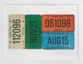 Minted License Memories Custom Art Print