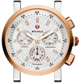 Michele 'Sport Sail' Chronograph Watch Case, 36mm