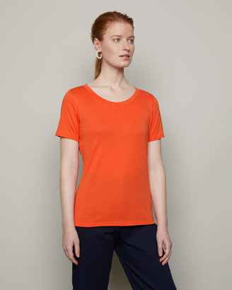 Jigsaw Short Sleeve Pima Cotton Tee