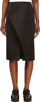 Roksanda Black Folded Panel Balmont Skirt