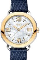 Fendi Selleria Two-Tone Yellow Gold Selleria Watch Head, 36mm