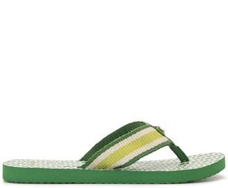 Tory Burch Gemini link thin flip-flops