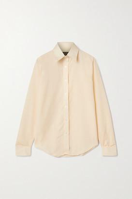 Emma Willis Zepherlino Cotton Shirt - Yellow