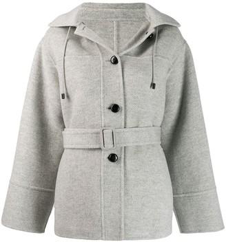 Joseph Hood Single-Breasted Coat