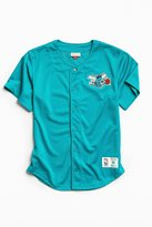 Mitchell & Ness Charlotte Hornets Button Front Jersey