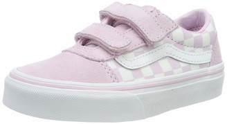 Vans Girls' Ward V-Velcro Suede Trainers