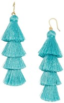 BaubleBar Gabriela Fringe Drop Earrings