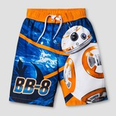 Star Wars Boys' Swim Trunk-BB-8 - Blue