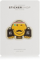 Anya Hindmarch Libra zodiac small sticker