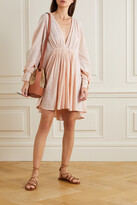 Thumbnail for your product : Kalita Always The Muse Cotton-gauze Mini Dress - Pink