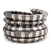 Cara Accessories Racy Coil Bracelet