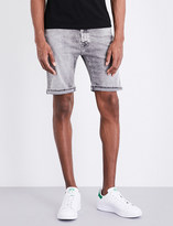 Replay Anbass mid-rise cotton shorts