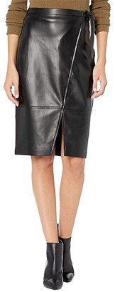 Blank NYC Wrap Skirt w/ Tie Closure (Lonestar) Women's Skirt