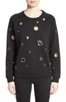 Kenzo Women's Grommet Embellished Sweatshirt