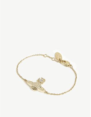 Vivienne Westwood Mini Bas Relief chain bracelet