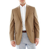 JCPenney Stafford Executive Hopsack Blazer - Portly