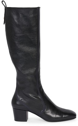 Chloé Goldee Knee-High Leather Boots