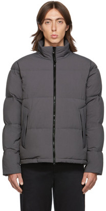 The Very Warm SSENSE Exclusive Grey Quilted Puffer Jacket