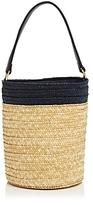 Navy Straw Handbag Shopstyle Uk