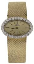 Girard Perregaux 18K Yellow Gold 1.00Ct Diamond 26mm Vintage Ladies Watch