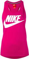 Nike logo print vest top - women - Polyester/Modal - L