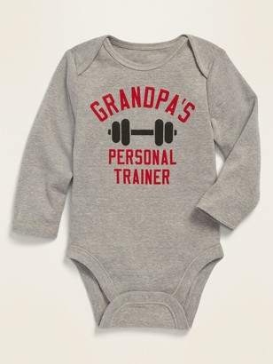 Old Navy Graphic Long-Sleeve Bodysuit for Baby
